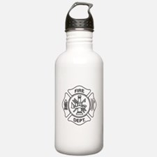 Fire department symbol Water Bottle
