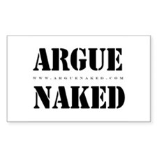 Argue Naked Decal