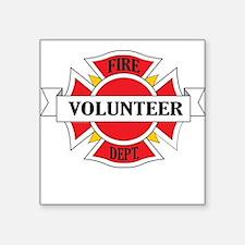 Fire department volunteer Sticker