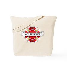 Fire department volunteer Tote Bag