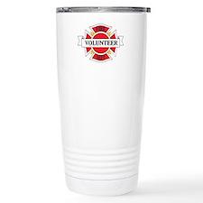 Fire department volunteer Travel Mug