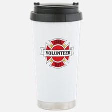 Fire department volunteer Travel Mug
