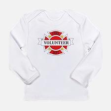 Fire department volunteer Long Sleeve T-Shirt