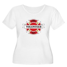 Fire department volunteer Plus Size T-Shirt