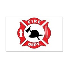 Fire department 2 Wall Decal