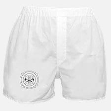 Fire dept logo Boxer Shorts