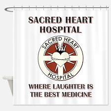 SACRED HEART HOSPITAL Shower Curtain