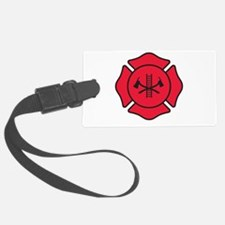 Fire dept symbol 2 Luggage Tag