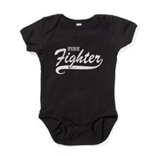 Fire fighter Baby Bodysuit