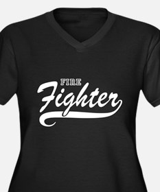Fire fighter Plus Size T-Shirt