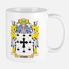 Caro Coat of Arms - Family Crest Mugs