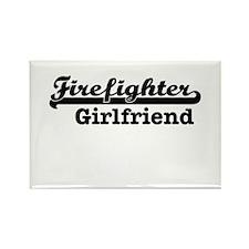 Firefighter girlfriend Magnets