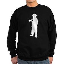 Firefighter silhouette Sweatshirt