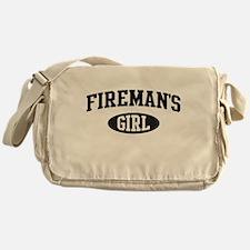 Fireman's girl Messenger Bag