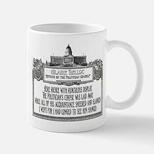 2-Politicians Funeral lights Mugs