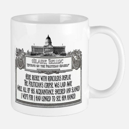 2-Politicians Funeral lights Mugs