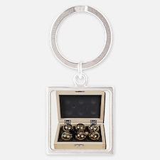 Bocce Ball Set Keychains