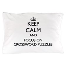 Unique Crossword Pillow Case