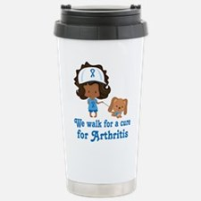 Arthritis Walk Ethnic Stainless Steel Travel Mug