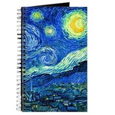 Cute Van gogh starry night Journal