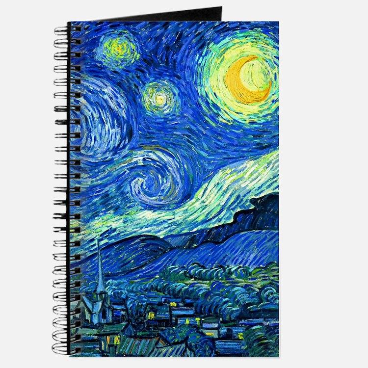 Cute Starry night Journal