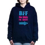 Bff Hooded Sweatshirt