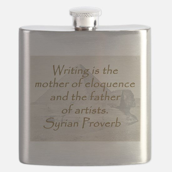 Writing Is the Mother Flask