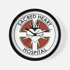 SACRED HEART HOSPITAL Wall Clock