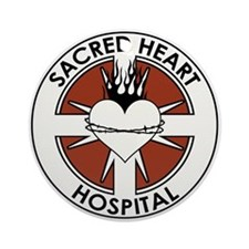 SACRED HEART HOSPITAL Ornament (Round)