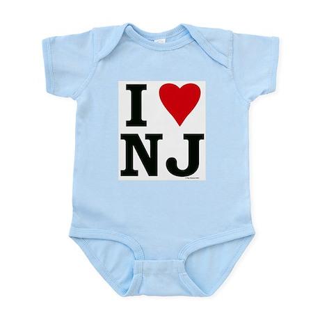 """""""I LOVE NJ"""" Infant Creeper"""