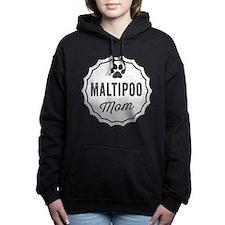 Maltipoo Mom Women's Hooded Sweatshirt