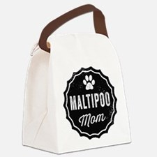 Maltipoo Mom Canvas Lunch Bag