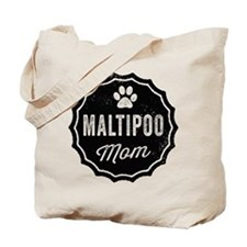 Maltipoo Mom Tote Bag
