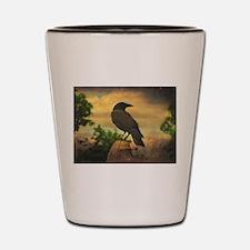 Cute Crow Shot Glass