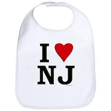 """""""I LOVE NJ"""" Bib"""