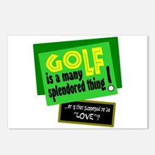 Golf-A Splendored Thing Postcards (Package of 8)