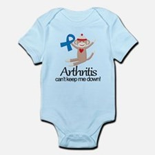 Arthritis Sock Monkey Infant Bodysuit