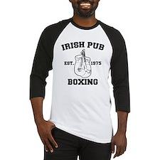 Irish Pub Boxing Baseball Jersey