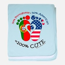 Portuguese American Baby baby blanket
