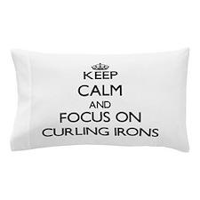 Unique I heart curling Pillow Case