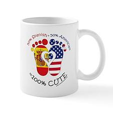 Spanish American Baby Small Mug