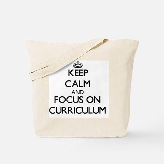 Cute Curriculum Tote Bag