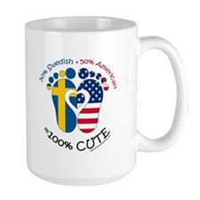 Swedish American Baby Mug
