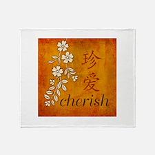 Cherish Throw Blanket