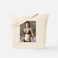 Saffronia - 3D Digital Art Tote Bag