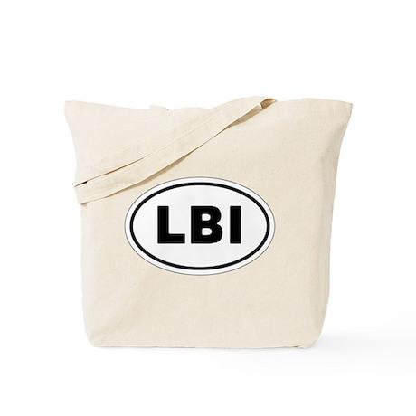LBI Oval Design Tote Bag