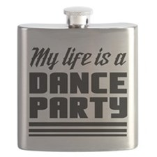 My Life Is a Dance Party Flask