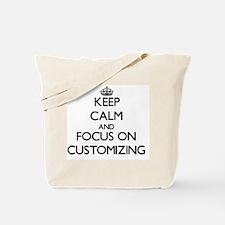Cute Keep calm custom Tote Bag