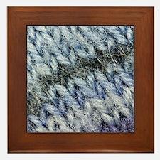 Cute Knit Framed Tile