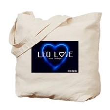 LEO Love Tote Bag